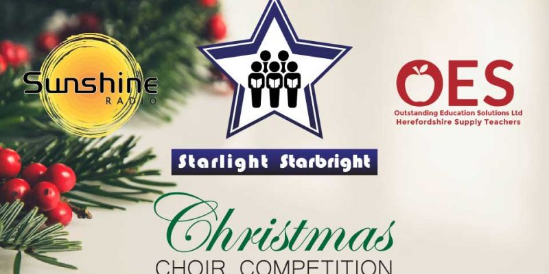 Sponsorship logos for Christmas competition