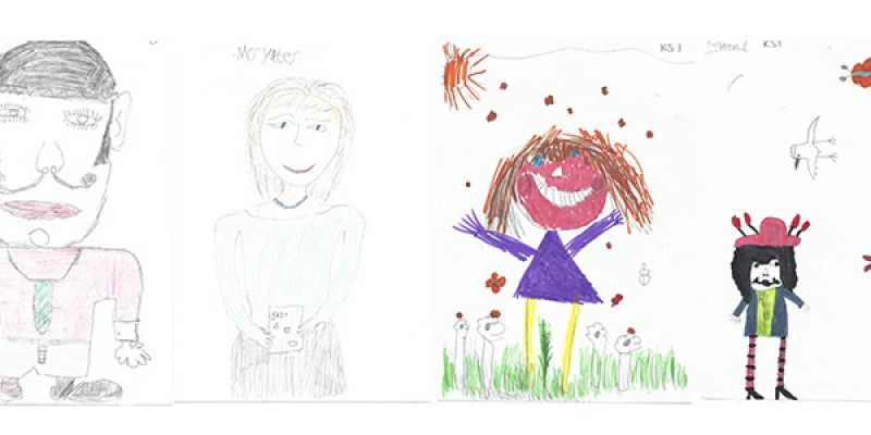 Drawing for primary school competition held by OES in Herefordshire
