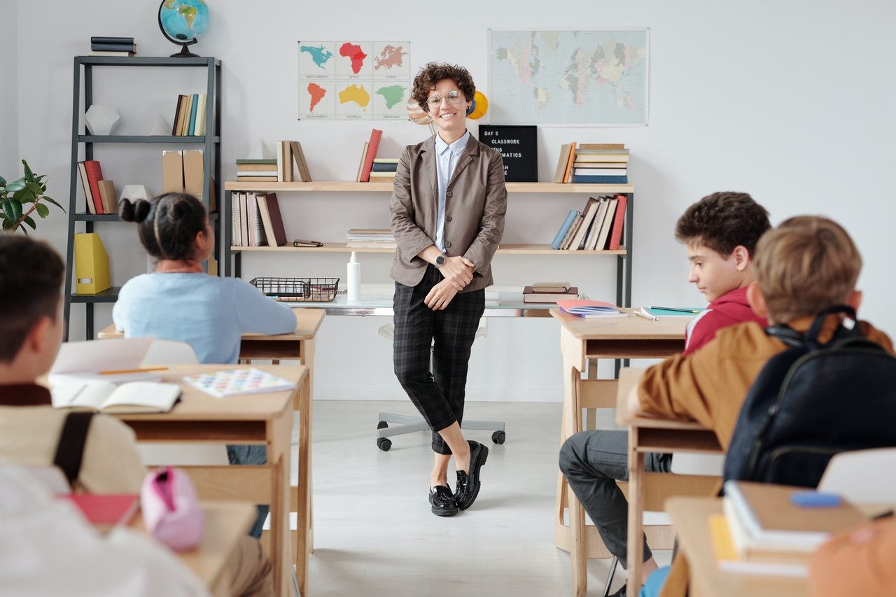 School classroom picture for Outstanding Education Solutions website